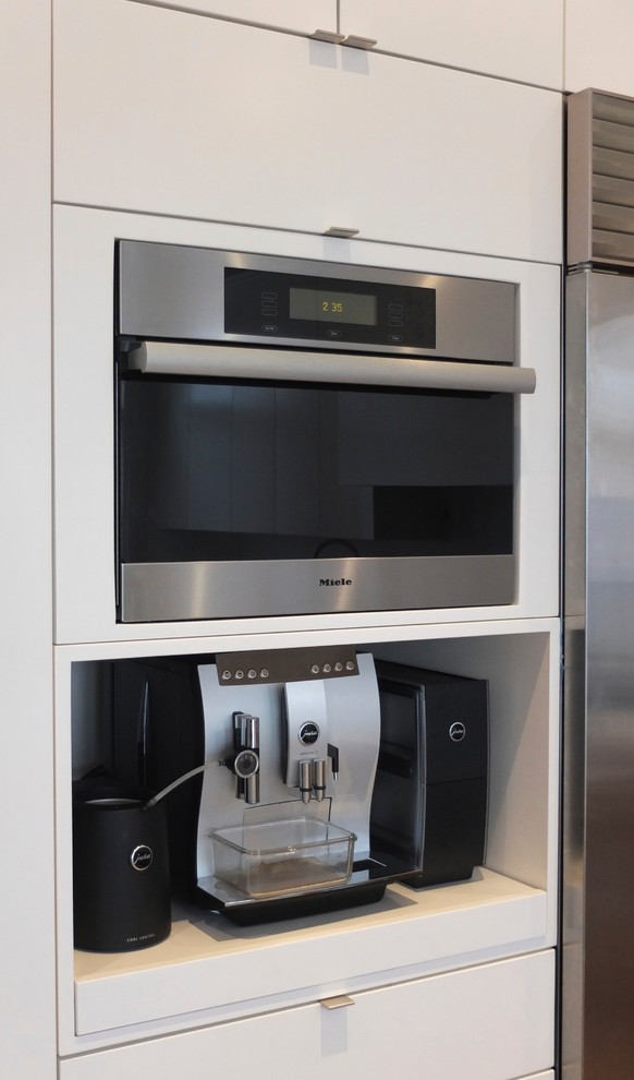 Saeco Aroma Espresso Machine Kitchen Contemporary with Jura Cup Warmer Jura Espresso Machine Jura Milk Cooler Miele Steam Oven2