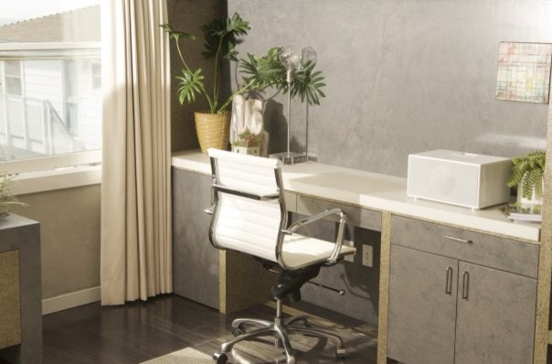 Schonbek Home Office Contemporary with None