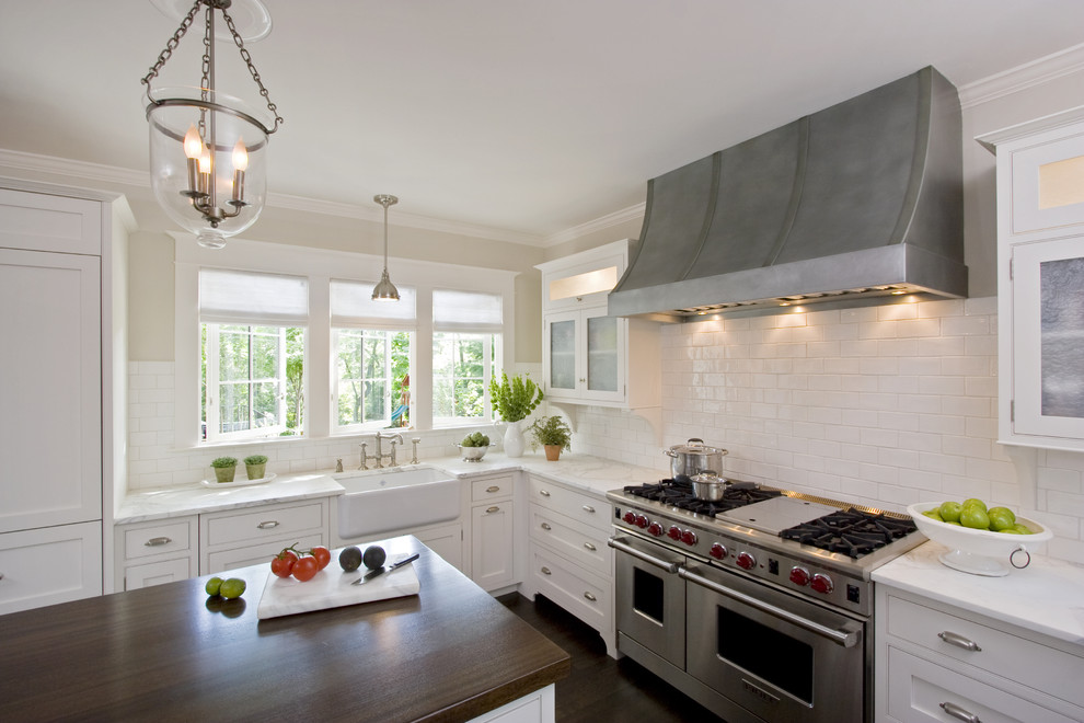 Seagull Lighting Kitchen Traditional with Apron Sink Bell Pendant Farm Sink Farmhouse Sink Footed Cabinets Island Lighting