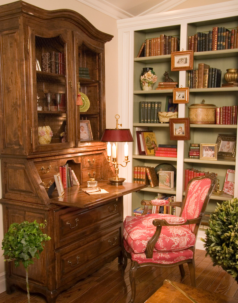 Secretary Desk with Hutch Home Office Traditional with Bookshelve Bookshelves Drop Down Secretary Desk Drop Leaf Secretary Fauteil Chair Red