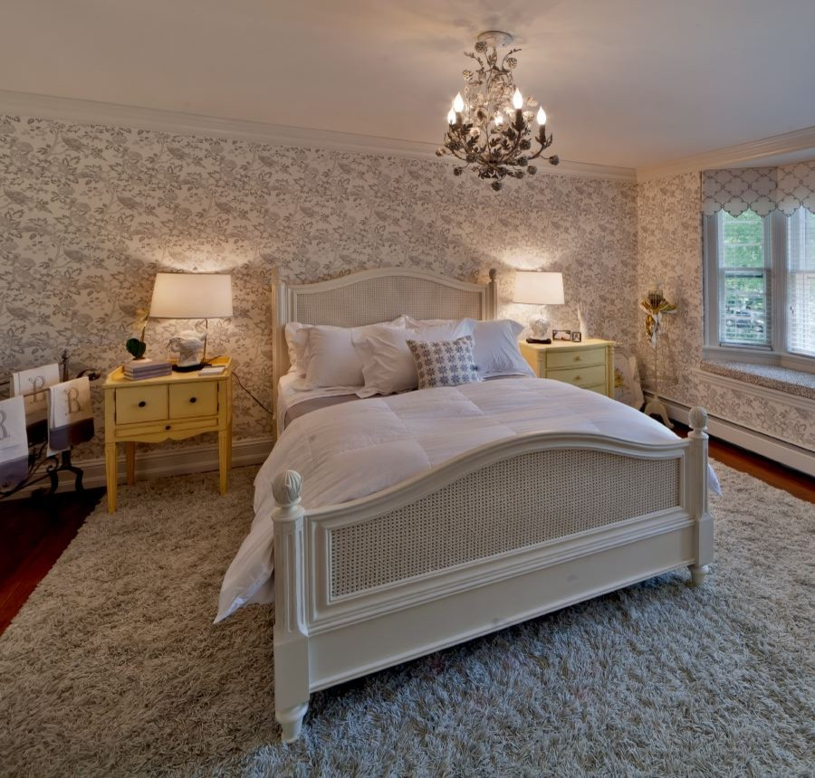 Shag Area Rug Bedroom Traditional with None
