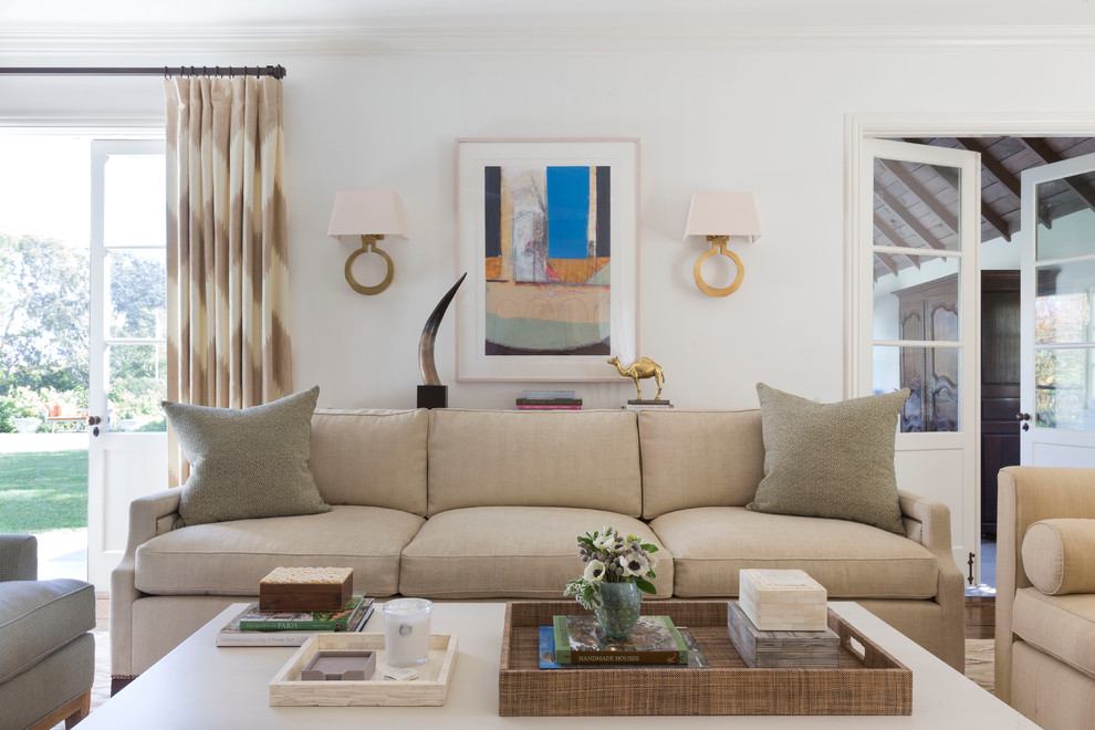 Shag Area Rugs Living Room Transitional with Aerin Fabric Bolster Pillows Chic Flame Stitch Holly Hunt Sofa Style Large