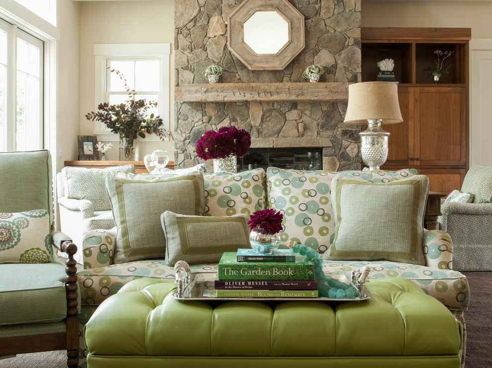 Shaw Flooring Living Room Contemporary with Annie Lowengart Chic Living Rooms Colorful David Duncan Livingston Galbraith and Paul