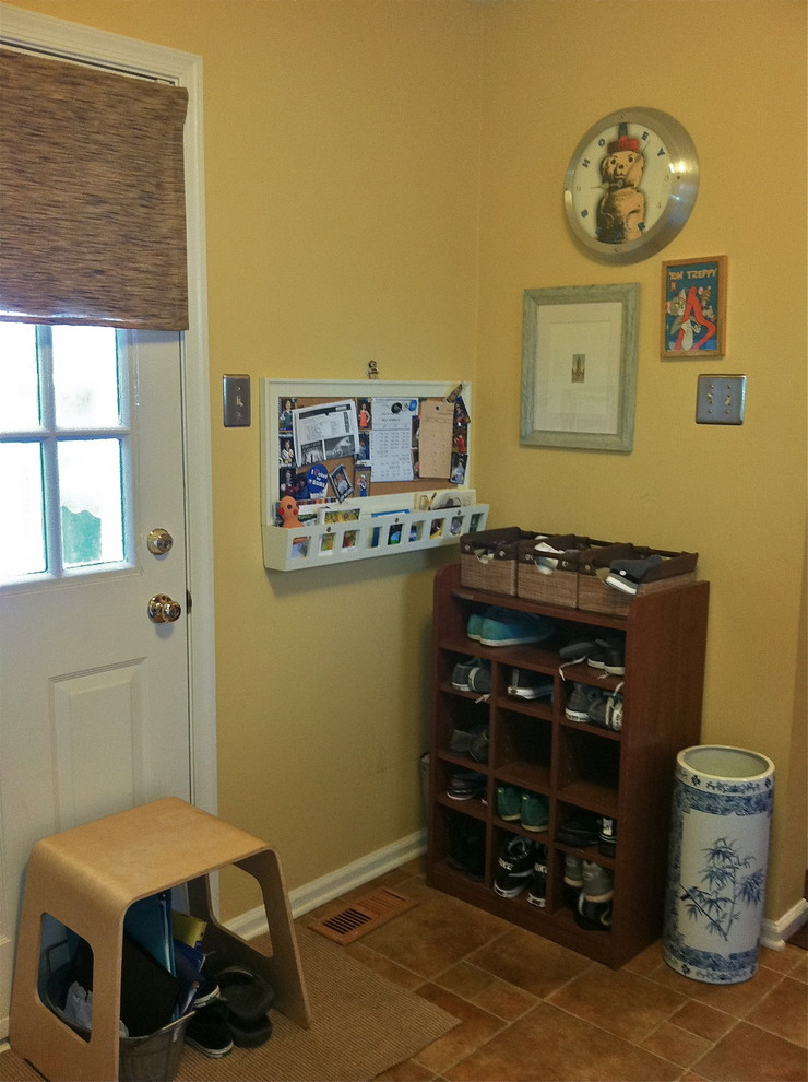 shoe caddy Laundry Room Eclectic with mud room mudroom shoe socks staging