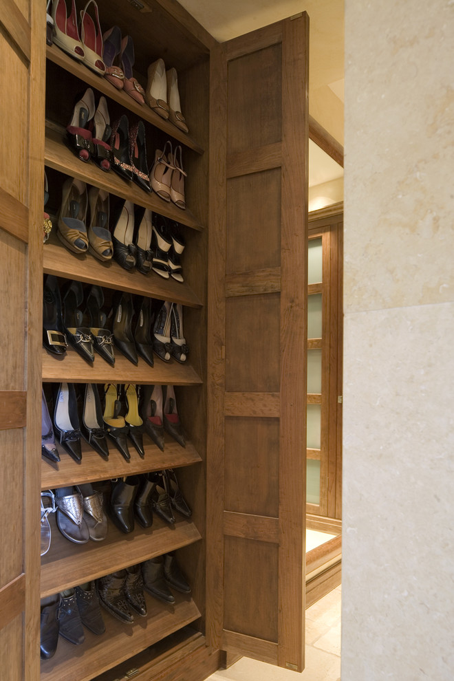 Shoe Racks For Closet Contemporary With Armoire Organization Organized Storage Wardrobe Wood