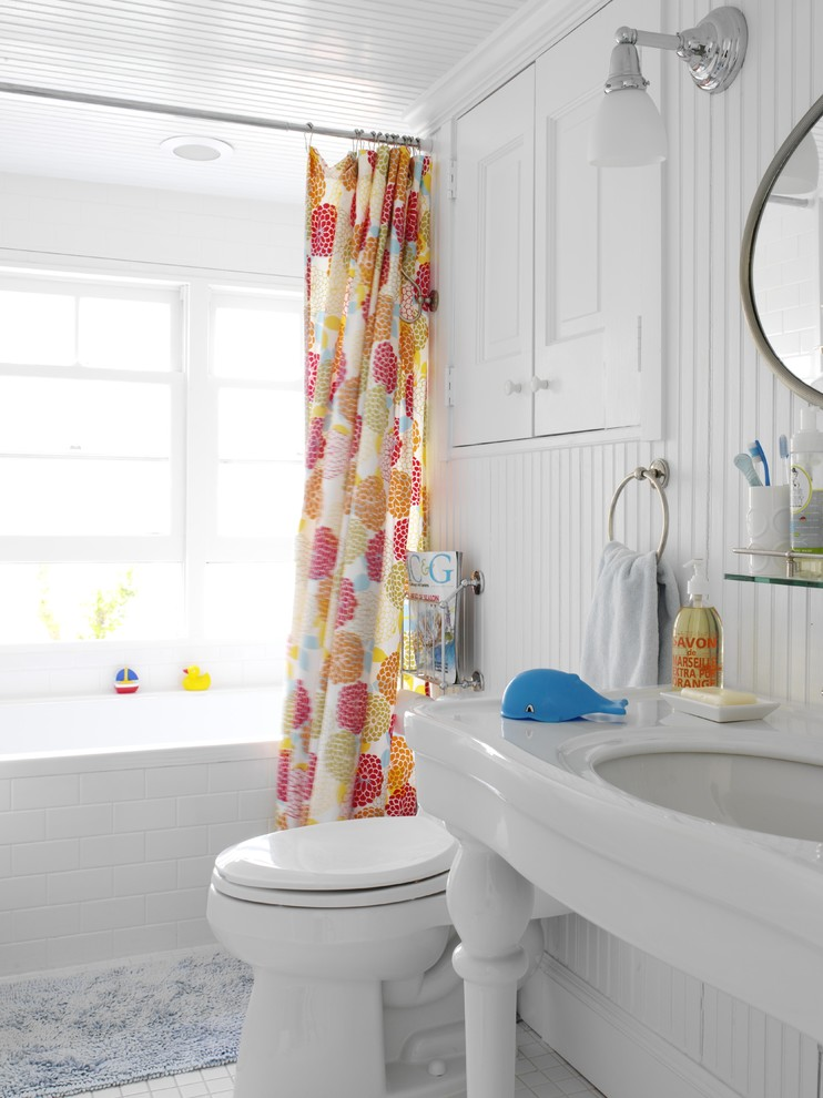 shower curtain sets Bathroom Beach with none