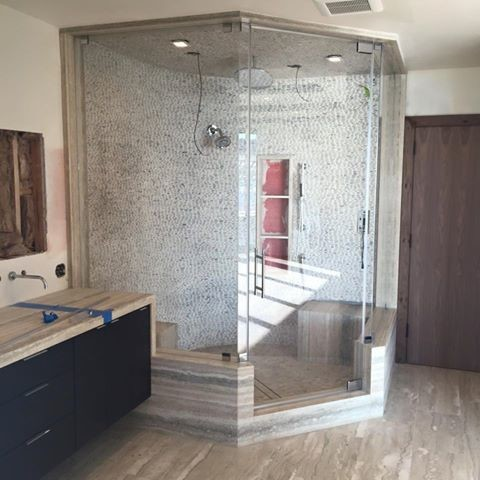 shower enclosure kits Spaces Beach with bathroom bathroom remodeling Really beautiful frameless steam shower enclosure shower Shower Enclosures