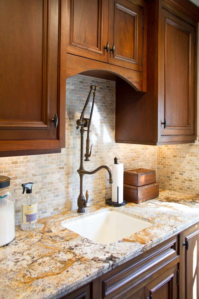 Single Handle Kitchen Faucet Laundry Room Traditional with Categorylaundry Roomstyletraditionallocationlos Angeles 1