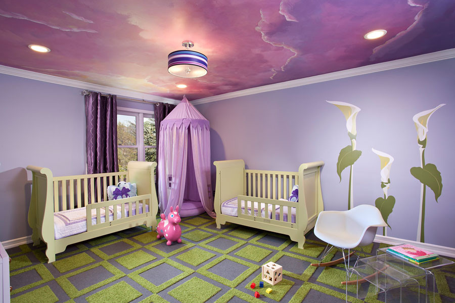 Sleigh Crib Kids Eclectic with Eclectic Girls Room Kids Room Modern Nursery Nursery Nursery Design Nursery Ideas