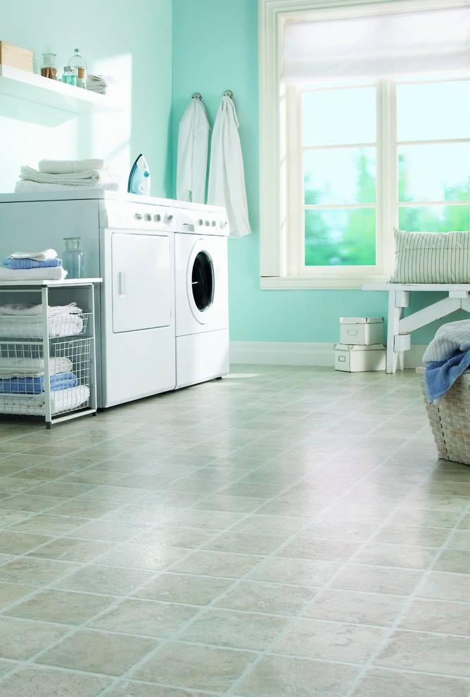 Slop Sink Laundry Room Traditional with Basement Flooring Laundry Room Laundry Room Flooring Laundry Room Ideas Laundry Room
