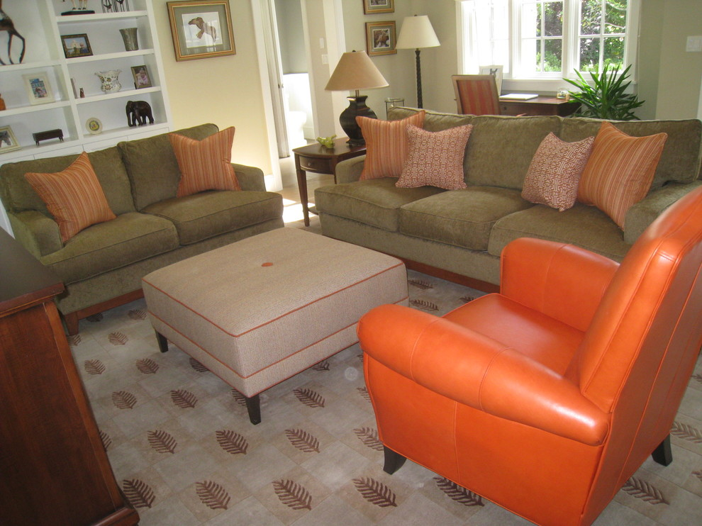 Sofa and Loveseat Set Living Room Transitional with Bright Colors Colorful Contemporary Family Room Contemporary Living Room Family Room Fun