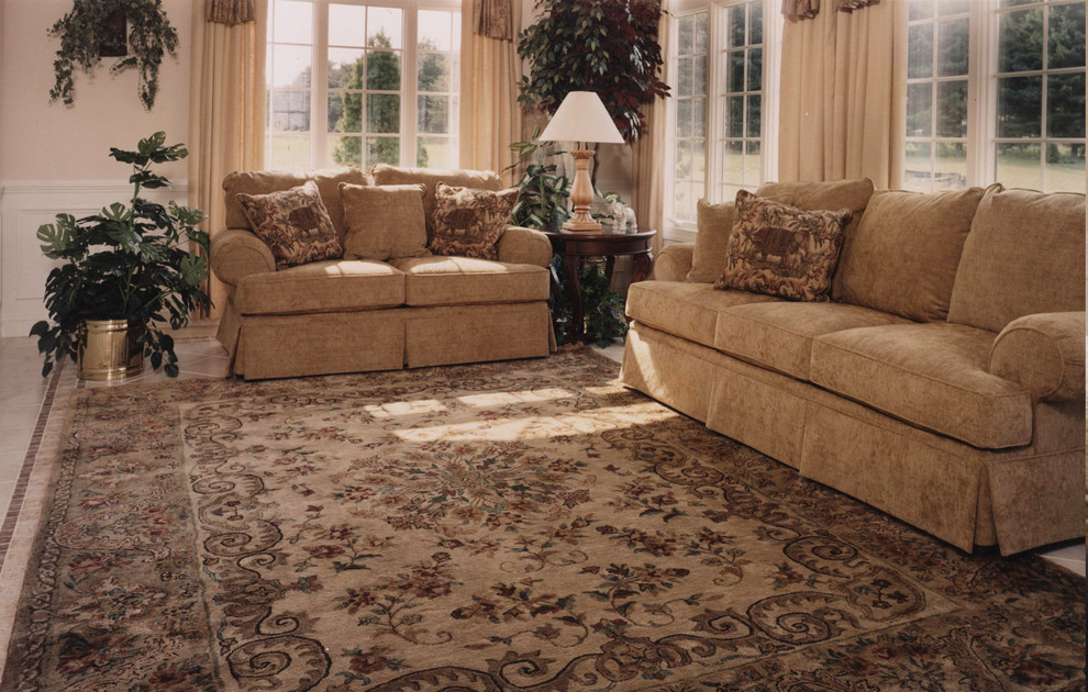 Sofa and Loveseat Sets Sunroom Traditional with Area Rugs Beautiful Beige Rug Bucks County Floral Rug Gold Gold Rug