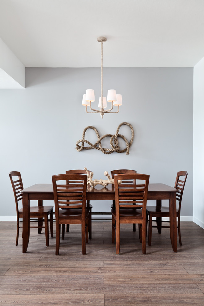 Solar Rope Lights Dining Room Contemporary with Airy Blue Wall Chandelier Clean Dining Table Neutral Rope Wood Chair Wood