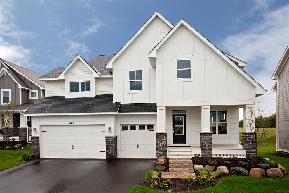 somerset flooring Exterior Traditional with barn style home brick exterior farm house farmhouse front porch living large