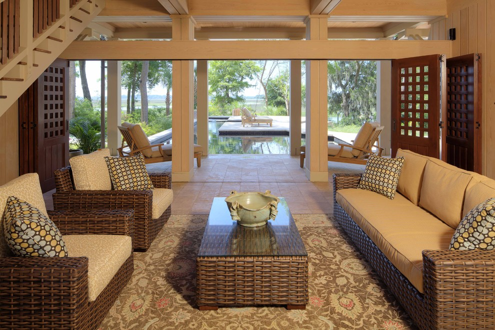 Southern Motion Furniture Porch Tropical with None