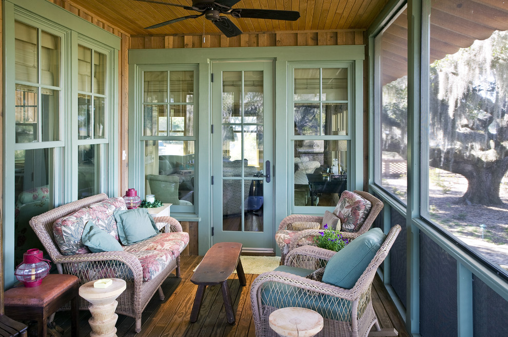 southern motion furniture reviews Porch Rustic with bench ceiling fan Craftsman farmhouse farmhouse windows garden furniture glass door green