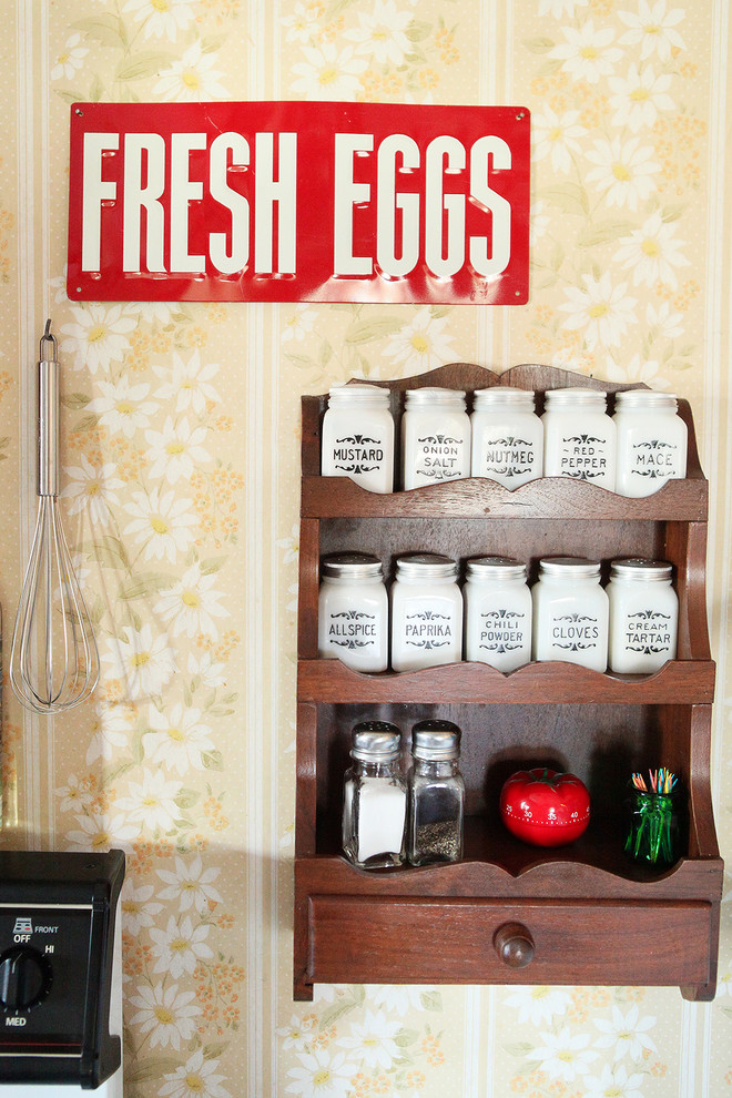 Spice Containers Kitchen Farmhouse with None