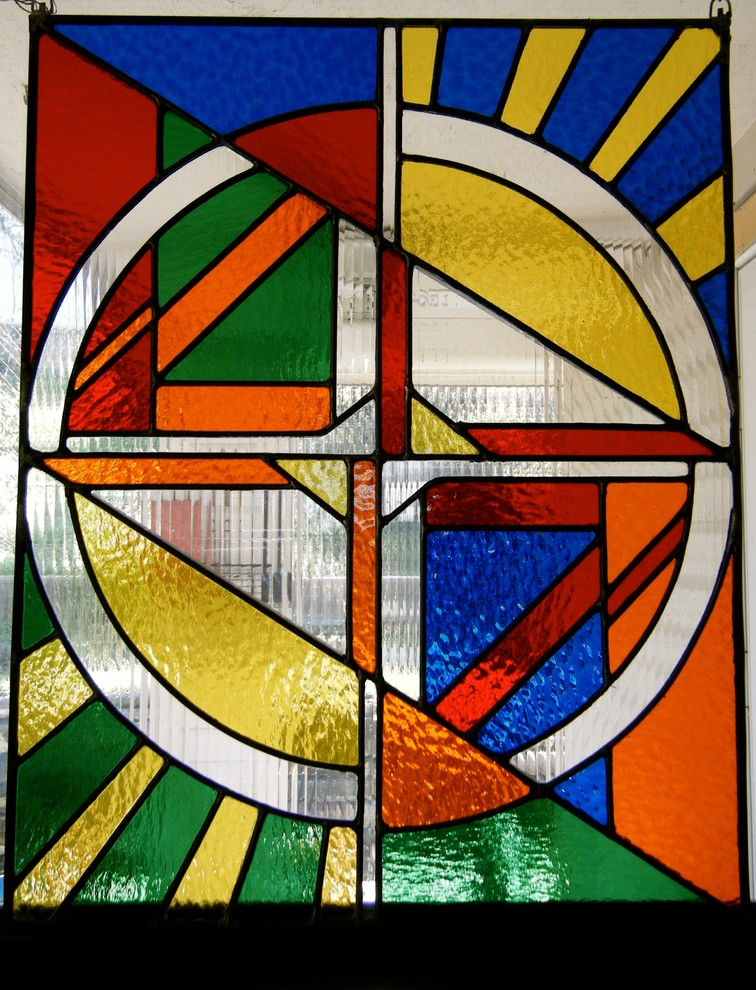 Stained Glass Window Panels Living Room Eclectic with Colorful Accents Colorful Art Privacy Stained Glass Panels Windows