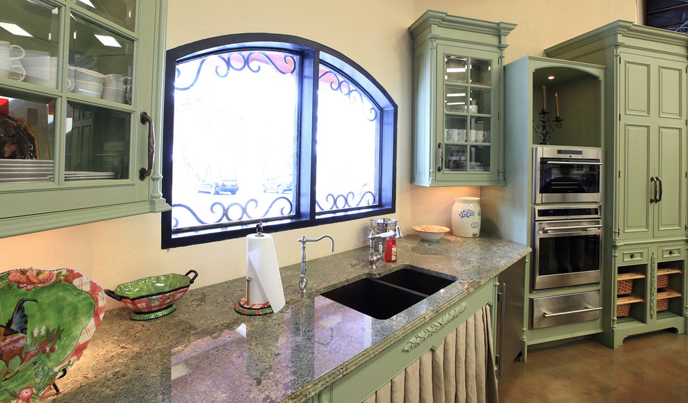 stainless steel steamer Kitchen Transitional with air purification built in Built in the USA cooktop ventilation Custom Cabinetry