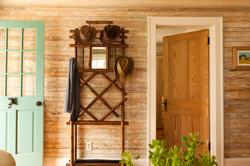Standing Coat Rack Entry Traditional with None