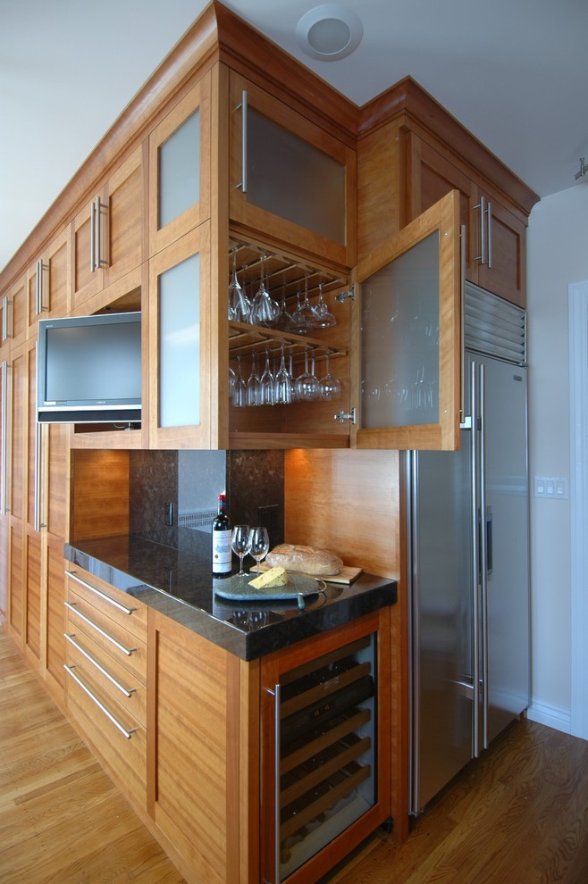Stemware Rack Kitchen Contemporary with Contemporary Kitchen Noe Valley San Francisco