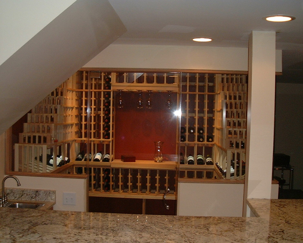 Stemware Rack Wine Cellar Traditional with Chicago Wine Cellar Design Wine Cellar Design Chicago