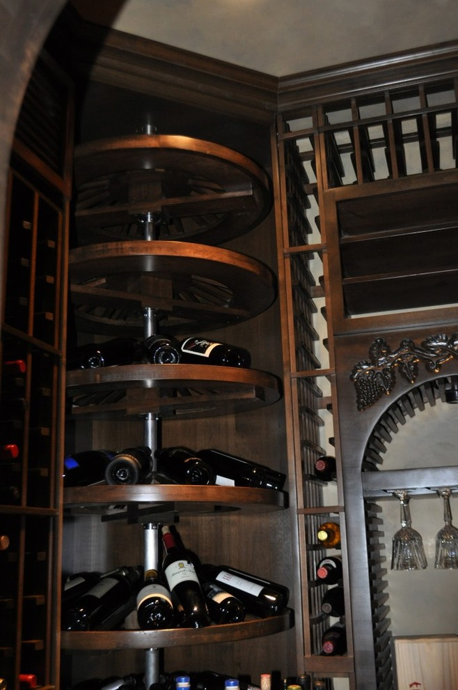 stemware rack Wine Cellar Traditional with wine cellar design dallas texas