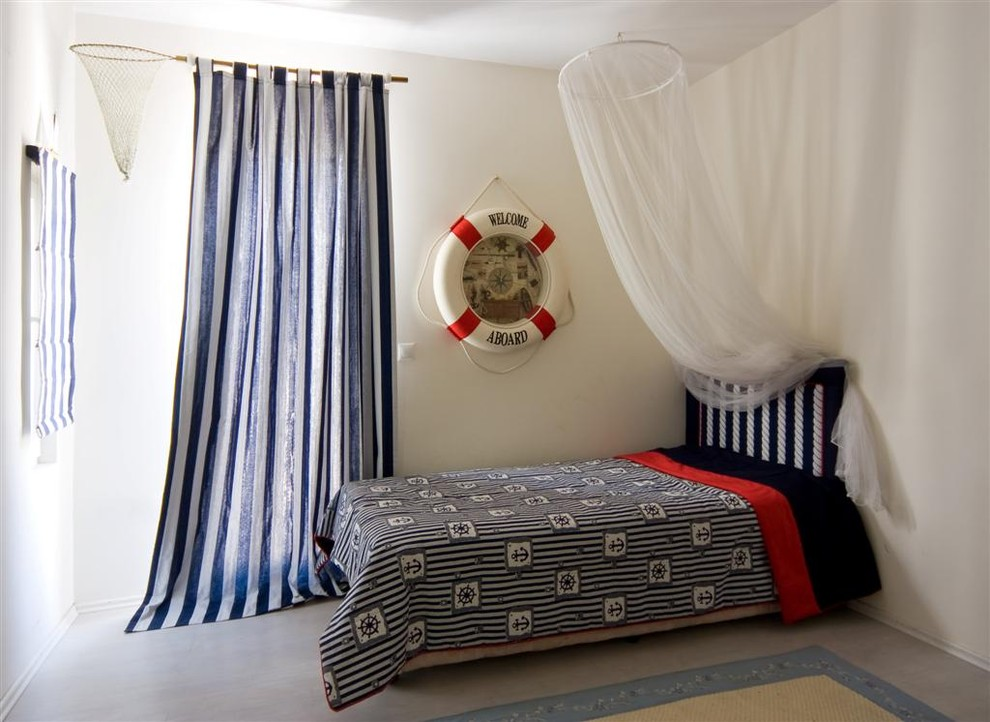 Striped Shower Curtain Kids Eclectic with Bedroom Canopy Bed Curtains Drapes Mosquito Bet Nautical Themed Twin Bed Wall