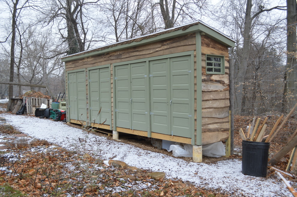 Beau Suncast Storage Shed Garage And Shed Traditional With