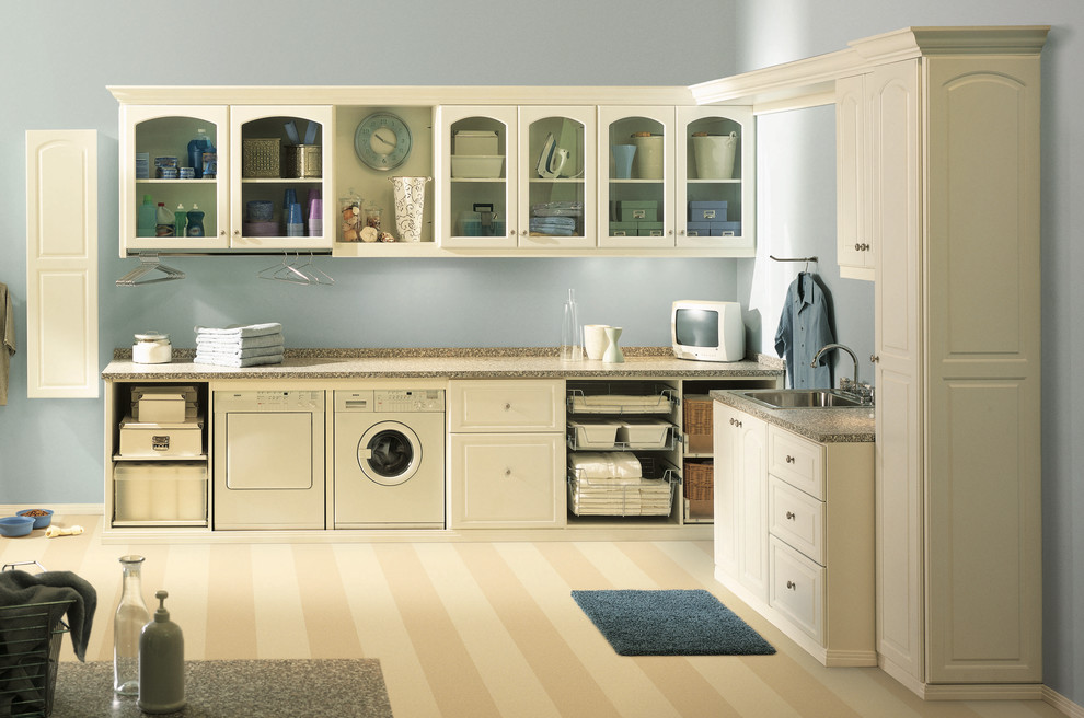 Surya Rug Laundry Room Transitional with Custom Made Interior Design Details Laundry Room Appliances Timeless Design