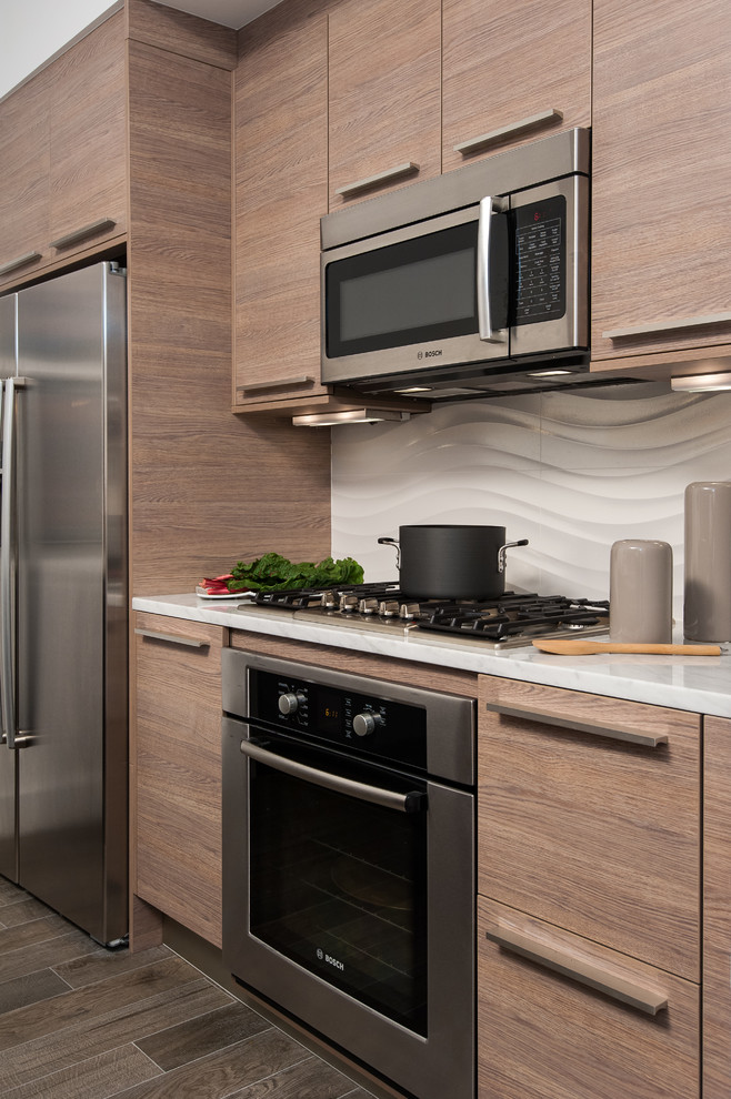 Swag Lamps Kitchen Contemporary with Contemporary Kitchen Kitchen Light Wood Modern Kitchen Porcelanosa Textured Tile Textured Walls