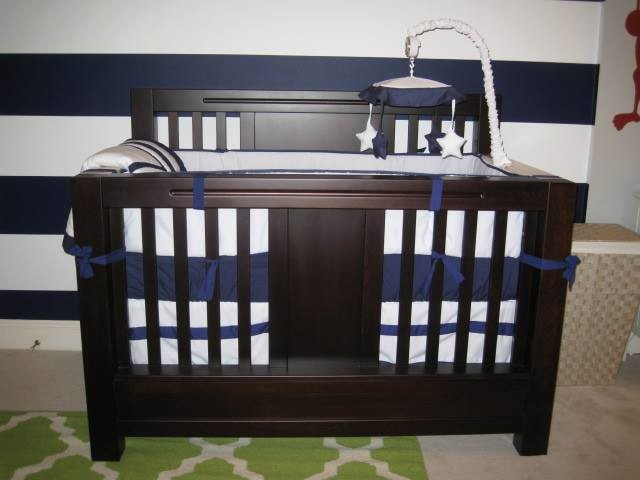 sweet jojo designs Spaces Transitional with animals baby baby bedding baby boy modern nursery primary colors safari wall