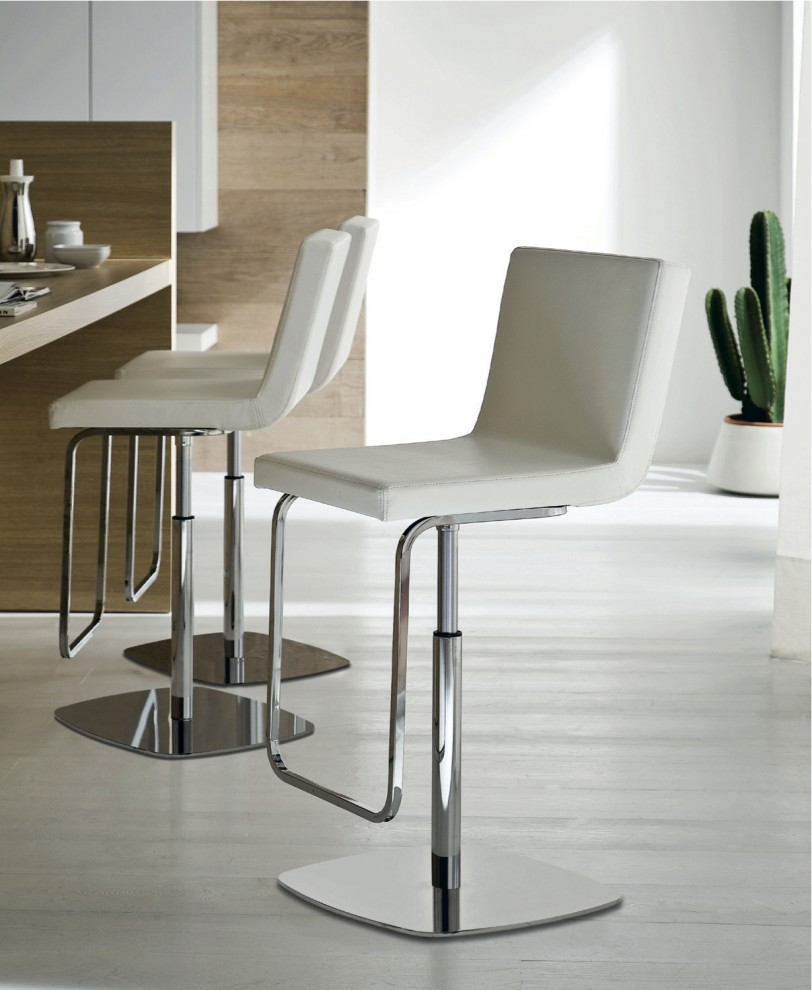 swivel bar stools with backs Kitchen Contemporary with none