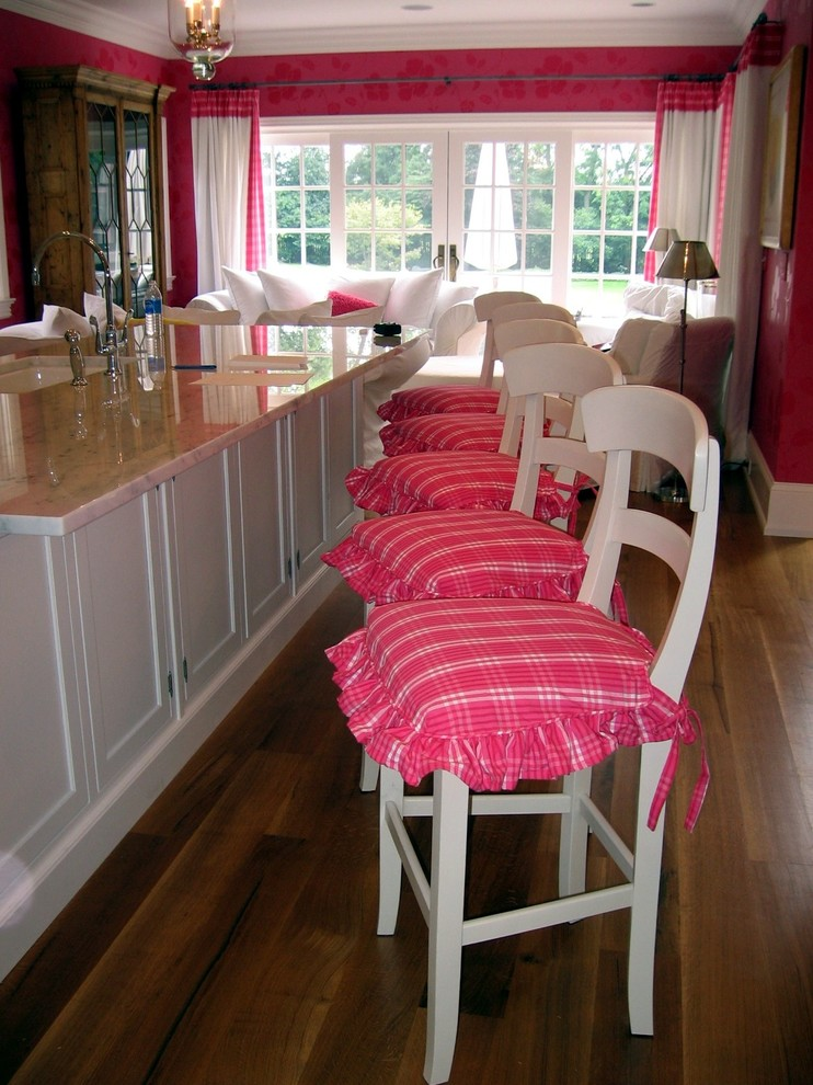 T Cushion Slipcovers Kitchen Traditional with Bar Stool Cushions