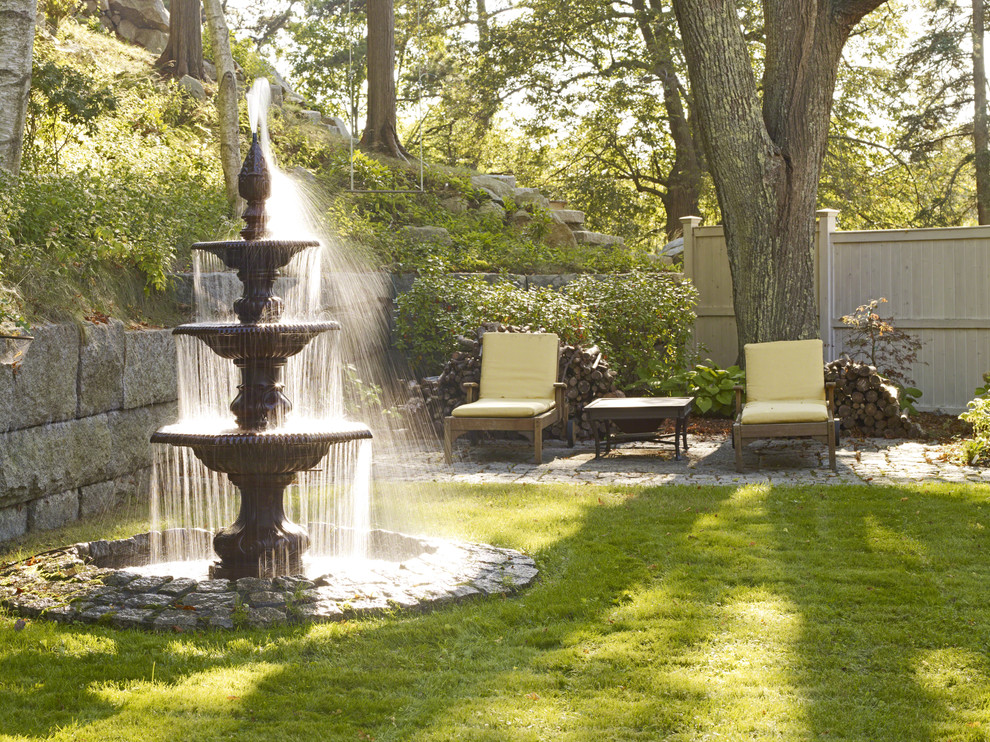tabletop fountain Landscape Traditional with 4 bedrooms Adirondack chairs and the Belvedere Cove SEASIDE Angel Island arbor