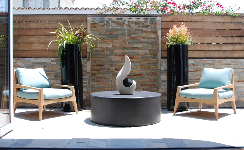 Tall Plant Stands Patio Contemporary with Flagstone Light Blue Chair Cushions Modern Modern Fountain Nana Wall System Outdoor