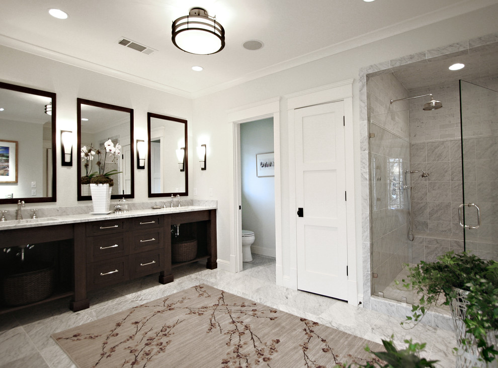 Tall Skinny Dresser Bathroom Traditional with Bathroom Hardware Bathroom Mirror Bathroom Rug Bathroom Storage Ceiling Lighting Crown Molding