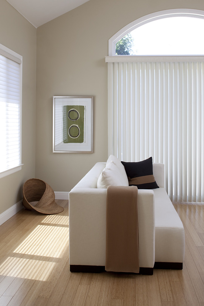 Tapestries for Sale Family Room Contemporary with Bamboo Floors Baseboards Beige Wall Carbonized Bamboo Contemporary Contemporary Family Room Contemporary