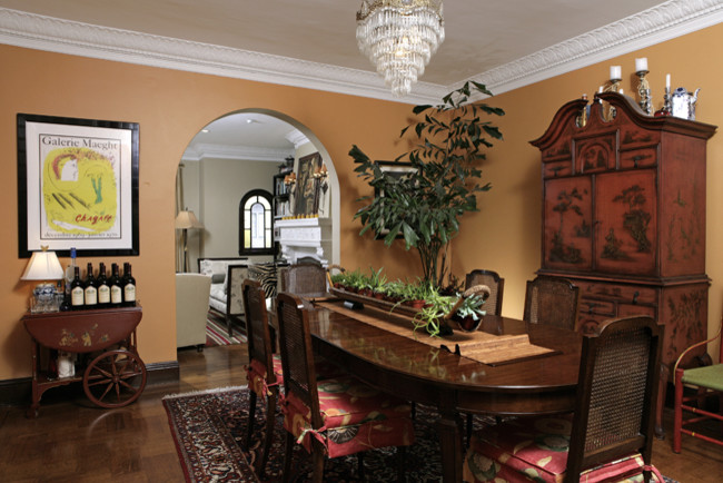 Tea Carts Dining Room Traditional with Dining Orange Traditional
