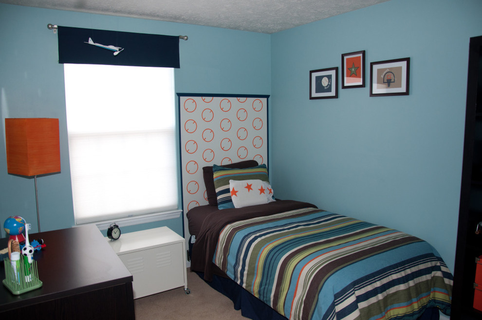 Teen Duvet Covers Kids Contemporary with Balls Blue and Brown Blue Bedroom Blue Walls Boys Bedroom Boys Bedroom