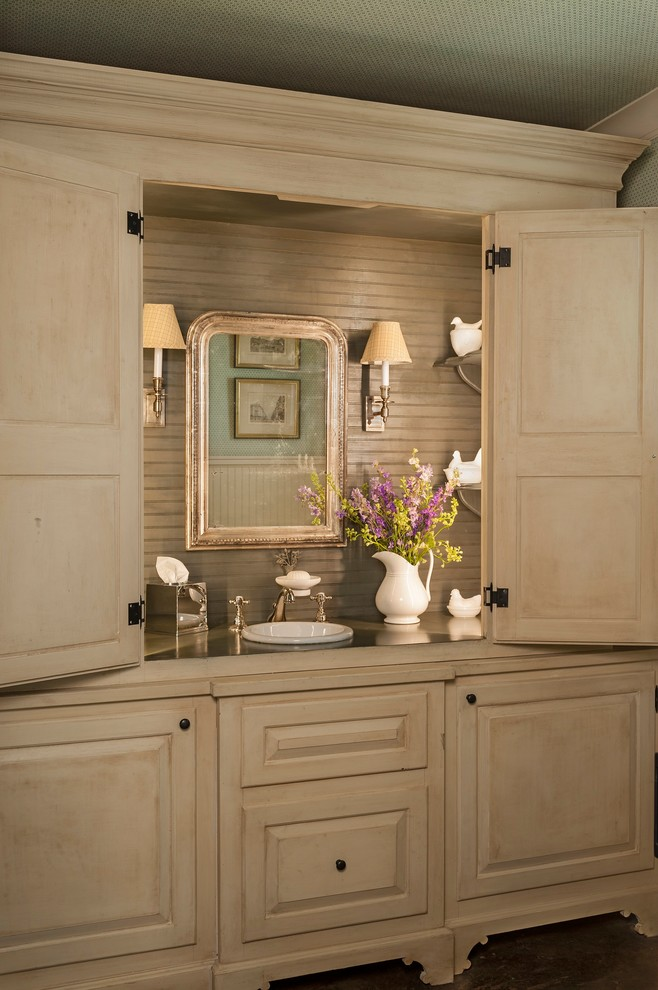 Tissue Box Covers Powder Room Farmhouse With Accessories Concealed Flowers Framed Mirror Cover Vase