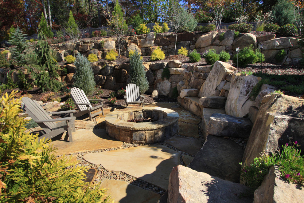 Toddler Rocking Chair Landscape Traditional with Adirondack Chair Boulders Council Ring Custom Home Remodeling Custom Homes Additions Custom