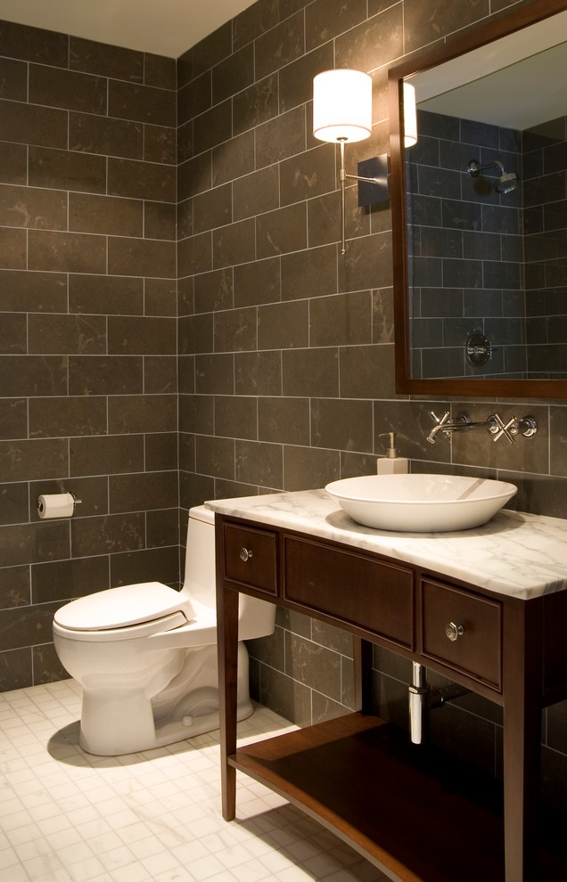 Toilet Paper Holders Bathroom Contemporary with Bathroom Toronto Interior Design Group Yanic Simard