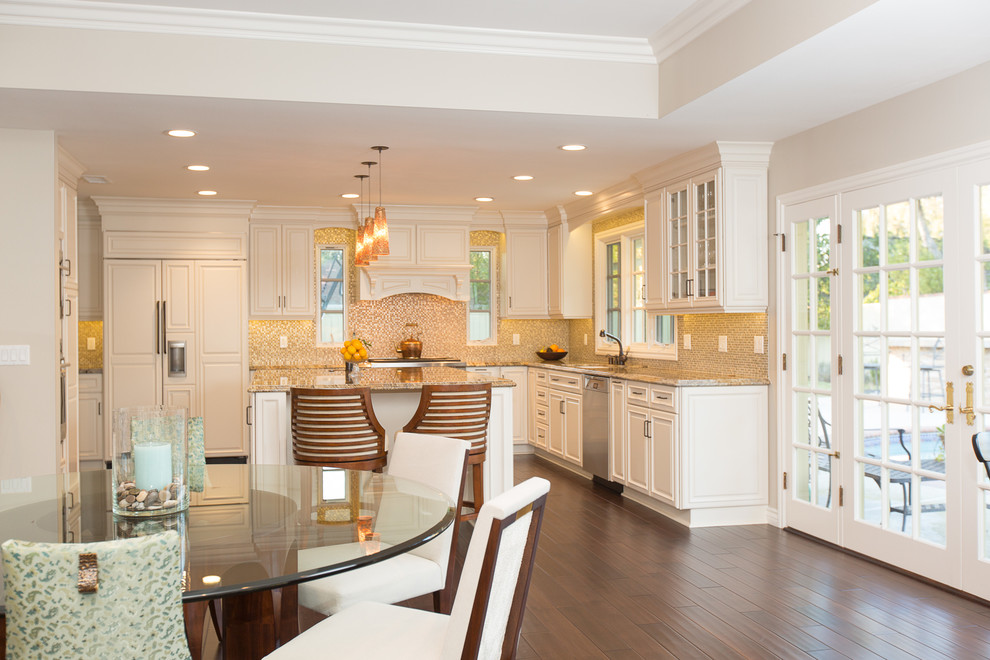 tommy-bahama-chairs-Kitchen-Transitional-with-Eclectic ...