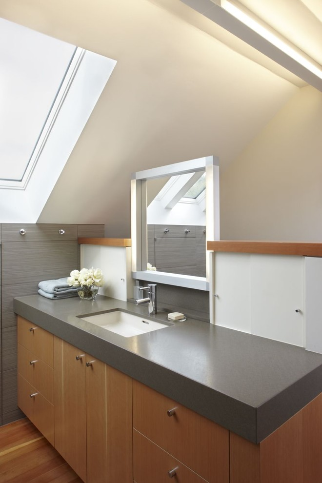 Toto Sinks Bathroom Contemporary with Bathroom Hardware Bathroom Mirror Bathroom Storage Ceiling Lighting Fir Cabinets Floating Vanity