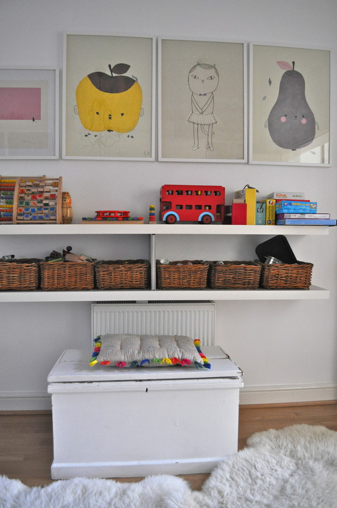 Toy Chests Dining Room Eclectic with None