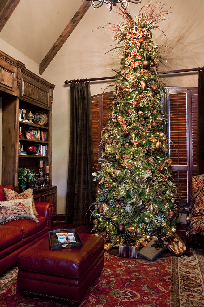 tree topper Dining Room Victorian with centerpiece chandelier ...