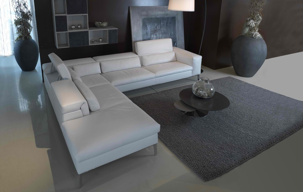 Trellis Rug Family Room Contemporary with Cierre Cierre Sofa Contemporary Living Room Contemporary Sectional Contemporary Sofa European Furniture