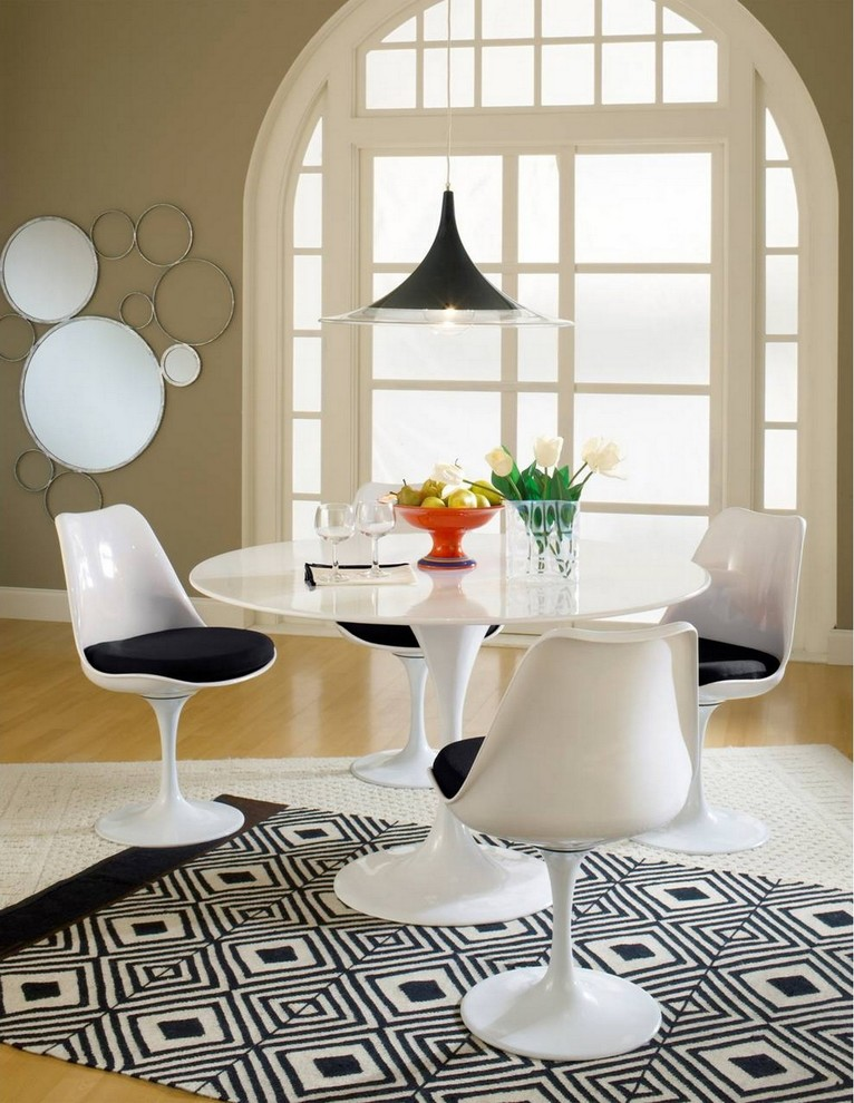 Tricycles for Kids Dining Room Modern with Contemporary Dining Room Furniture Eero Saarinen Table Eero Saarinen Tulip Table Graphic