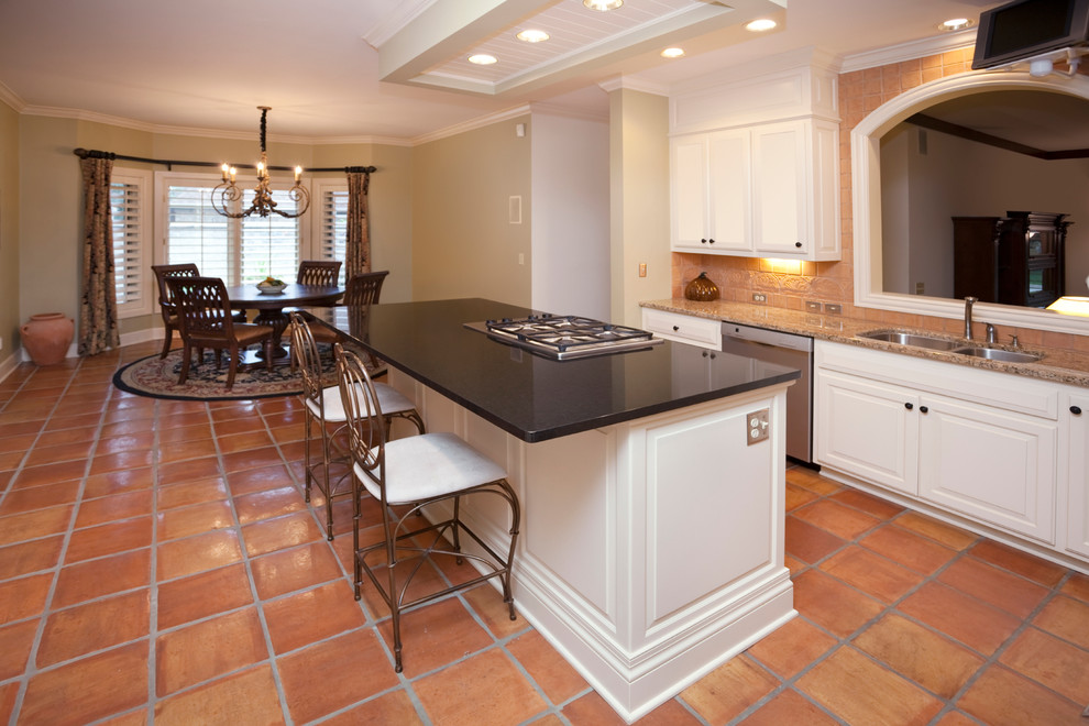 Trina Turk Bedding Kitchen Traditional with Cabinets Complete Kitchen Remodeling Complete Remodeling Contractor Counter Counter Top Countertop Kitchen Kitchen